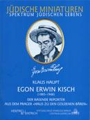 Cover Egon Erwin Kisch, Klaus Haupt, Jewish culture and contemporary history