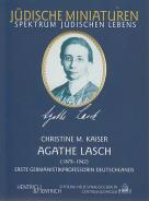 Agathe Lasch, Christine M. Kaiser, Jewish culture and contemporary history