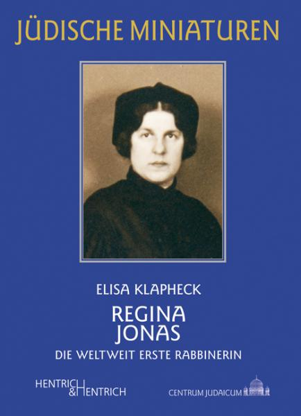 Cover Regina Jonas, Elisa Klapheck, Jewish culture and contemporary history