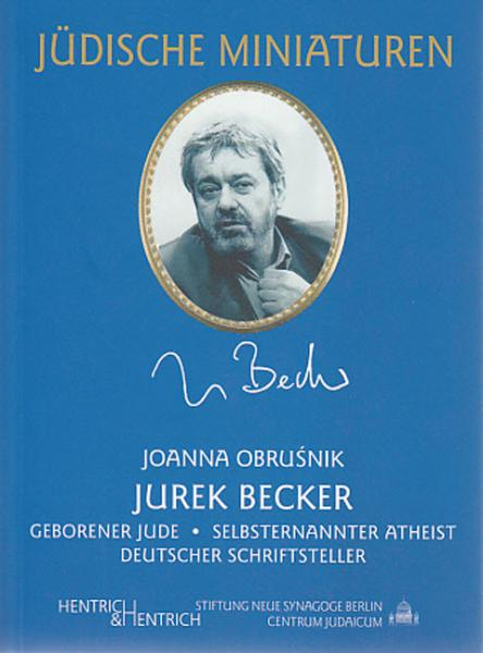Cover Jurek Becker, Johanna Obrusnik, Jewish culture and contemporary history