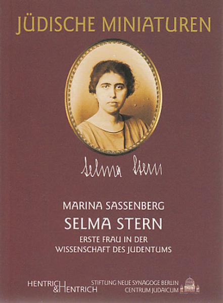 Cover Selma Stern, Marina Sassenberg, Jewish culture and contemporary history