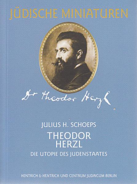 Cover Theodor Herzl, Julius H. Schoeps, Jewish culture and contemporary history