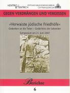 Verwaiste jüdische Friedhöfe, Hermann Simon (Ed.), Jewish culture and contemporary history
