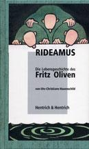 Cover Rideamus, Ute-Christiane Hauenschild, Jewish culture and contemporary history