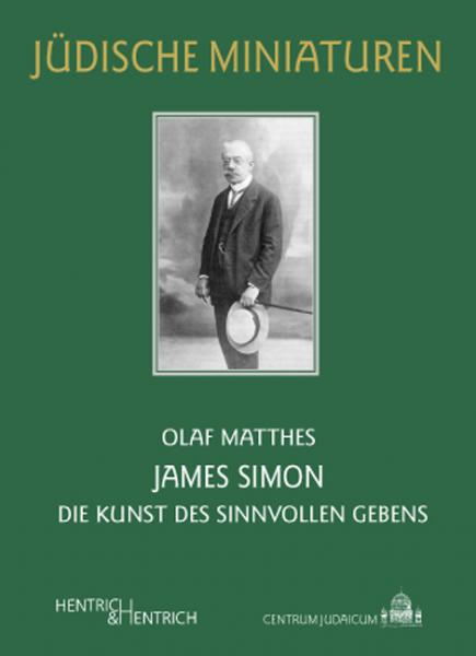 Cover James Simon , Olaf Matthes, Jewish culture and contemporary history
