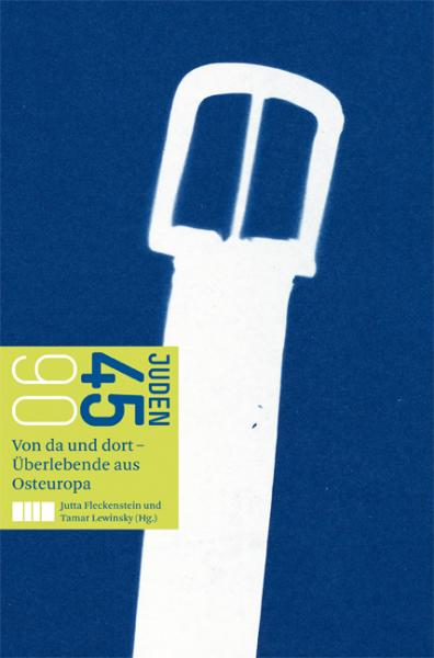 Cover Juden 45/90 , Jutta Fleckenstein (Ed.), Tamar Lewinsky (Ed.), Jewish culture and contemporary history