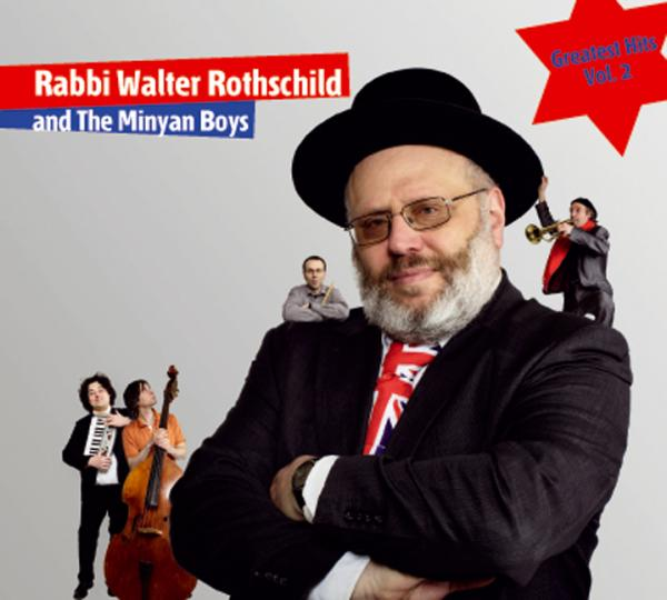 Cover Rabbi Walter Rothschild and The Minyan Boys , Jüdische Kultur und Zeitgeschichte
