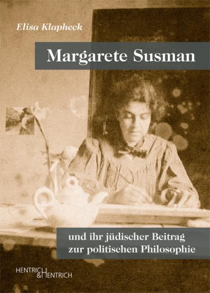 Cover Margarete Susman, Elisa Klapheck, Jewish culture and contemporary history