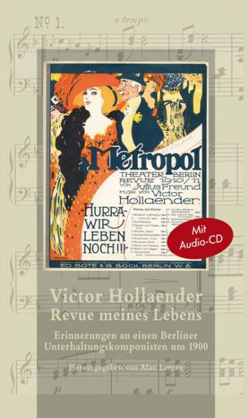 Cover Victor Hollaender. Revue meines Lebens, Alan Lareau (Ed.), Jewish culture and contemporary history