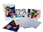 Künstlerkartenset - Greeting cards Rosch Haschana, Deborah S. Phillips, Jewish culture and contemporary history
