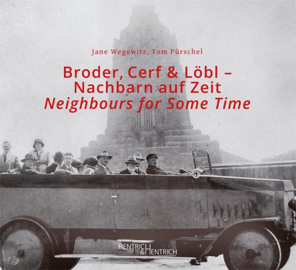 Cover Broder, Cerf & Löbl , Tom Pierre Pürschel, Jane  Wegewitz, Jewish culture and contemporary history