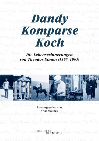 Cover Dandy – Komparse – Koch, Olaf Matthes (Ed.), Jewish culture and contemporary history