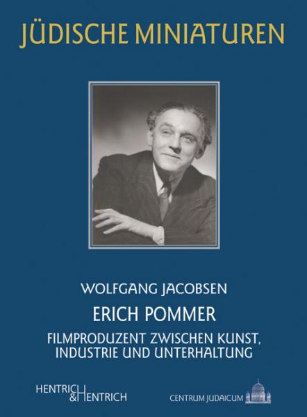 Cover Erich Pommer, Wolfgang Jacobsen, Jewish culture and contemporary history