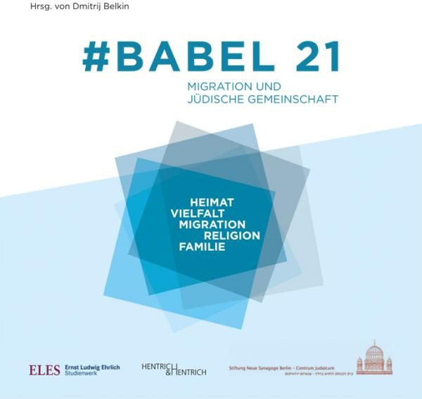 Cover #Babel 21, Dmitrij Belkin (Ed.), Jewish culture and contemporary history