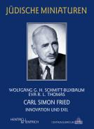 Carl Simon Fried, Wolfgang G. H. Schmitt-Buxbaum, Eva R. L.  Thomas, Jewish culture and contemporary history