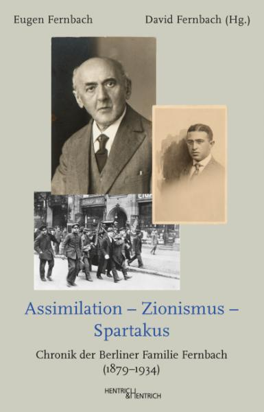 Cover Assimilation – Zionismus – Spartakus, Eugen Fernbach, David Fernbach (Ed.), Jewish culture and contemporary history