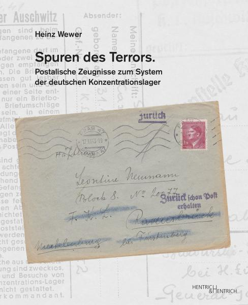 Cover Spuren des Terrors, Heinz Wewer, Jewish culture and contemporary history