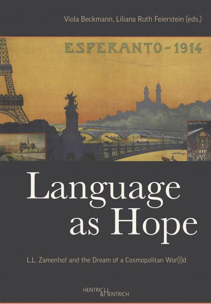 Cover Language as Hope , Viola Beckmann (Ed.), Liliana Ruth Feierstein (Ed.), Jewish culture and contemporary history