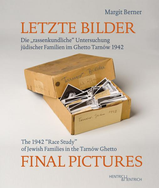 Cover Letzte Bilder - Final Pictures, Margit Berner, Jewish culture and contemporary history